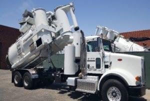 Used Supersucker High Dump Vacuum Truck