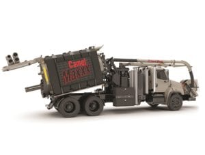 Camel Maxxx 1200 Ejection Unloading Sewer Truck
