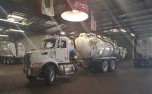 Used Durasucker Liquid Vacuum Truck