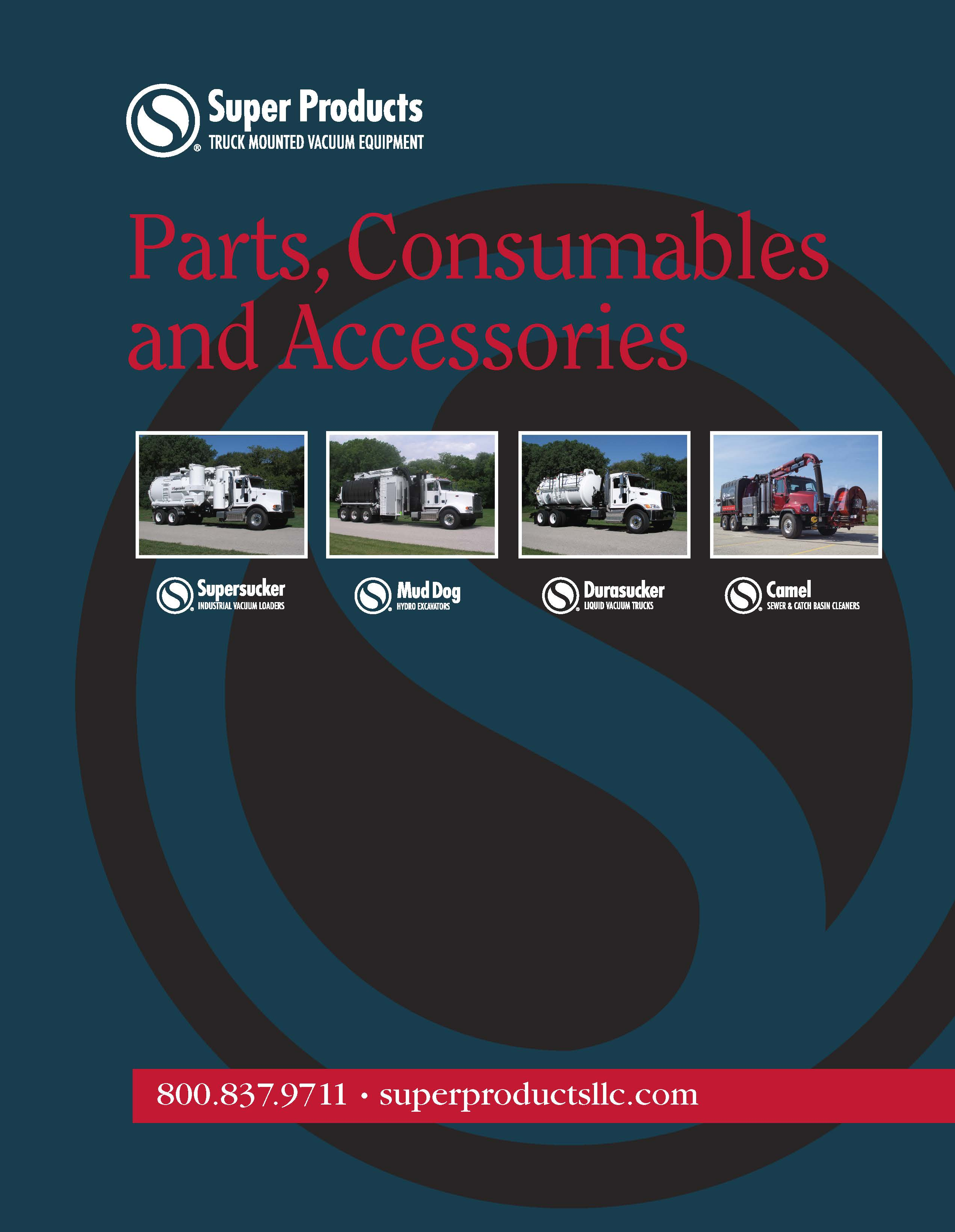 Super Products Parts Catalog Cover