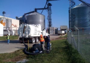 Industrial Vacuum Cleaning at a Farm