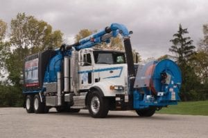 Camel MAXXX 1200 Wastewater Recycling Truck Parked Outside