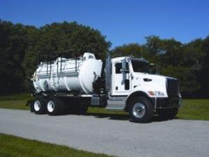 Durasucker Liquid Vacuum Truck Closeup