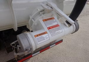 Supersucker Pneumatic Unloading Vacuum Truck Dumping Spout