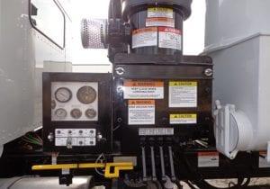 Supersucker Pneumatic Unloading Vacuum Truck Control Panel