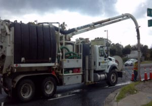 Sanitary Sewer Cleaning Application