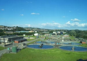Water Treatment Plant Cleaning Application