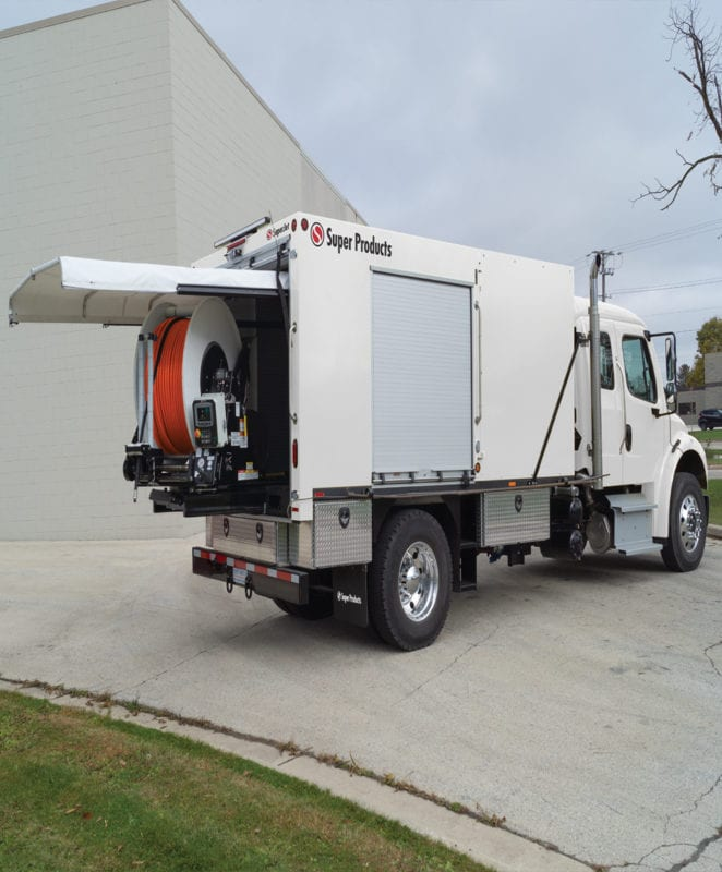 super products superjet truck mounted vacuum jetters