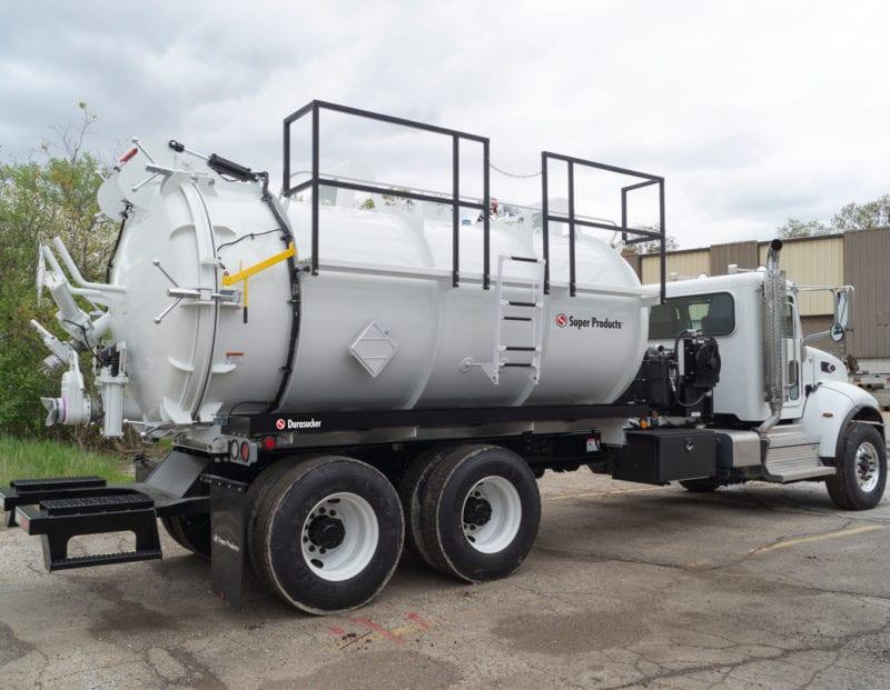durasucker liquid vacuum truck