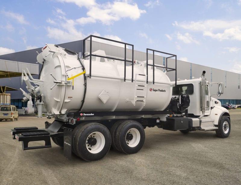 super products liquid vac truck