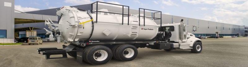 durasucker liquid vac truck