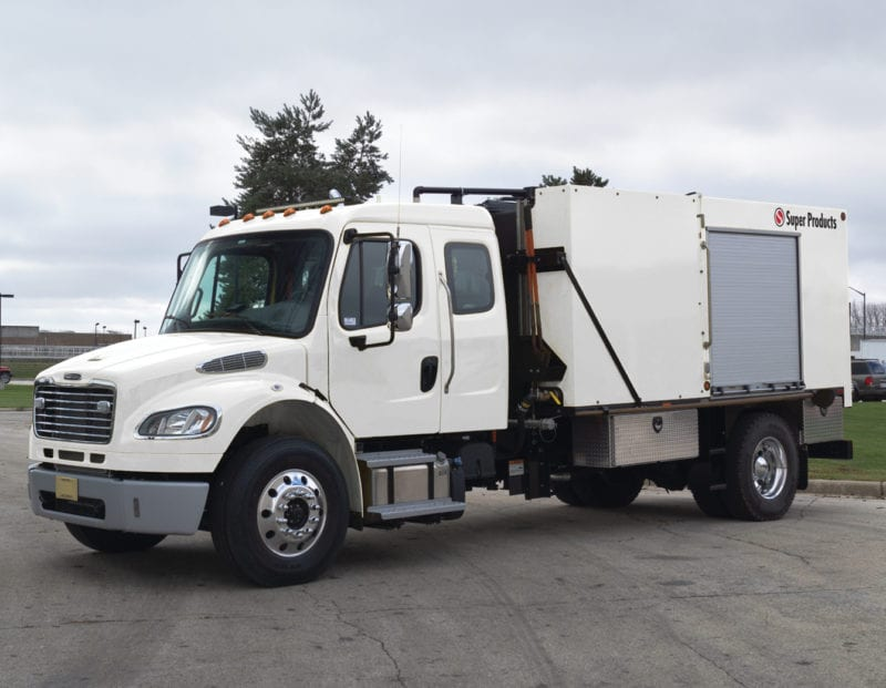 super products jetter truck